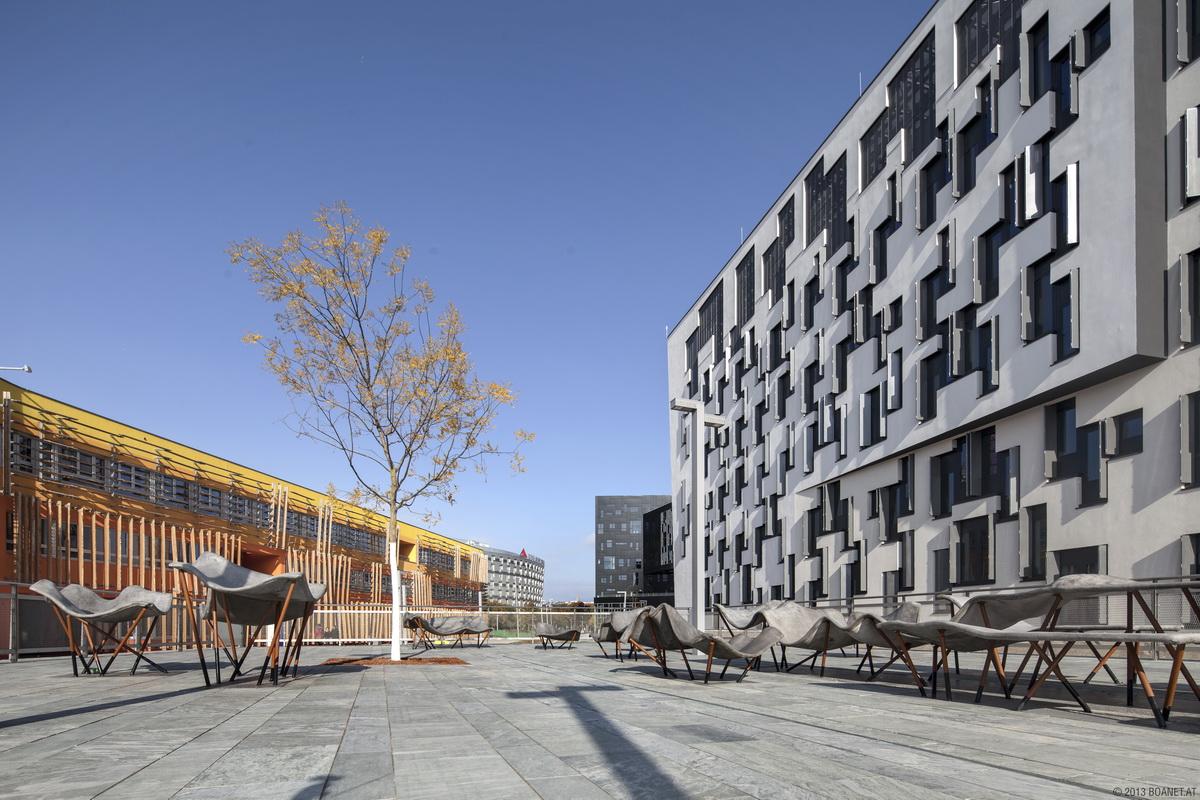 Campus wu architectural tours vienna for Architecture vienne